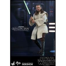 Star Wars: The Phantom Menace - Qui-Gon Jinn 1:6 Scale Figure Hot Toys Product Image