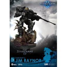 Starcraft 2: Jim Raynor PVC Diorama | Beast Kingdom