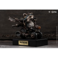 Steel Raccoon Statue Sideshow Collectibles Product