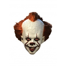 Stephen King's It 2017 Latex Mask Pennywise Deluxe | Trick or Treat Studios
