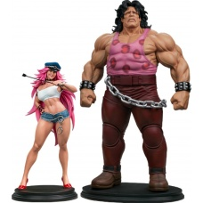 Street Fighter: Mad Gear Exclusive Hugo and Poison 1:4 Scale Statue Set - Pop Culture Shock (EU)