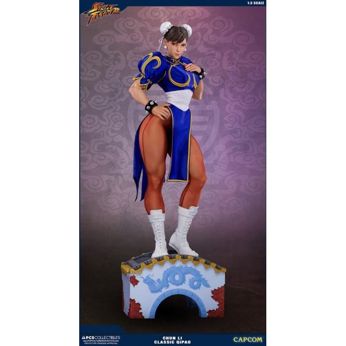 Street Fighter Statue 1/3 Chun Li Classic Qipao Exclusive 73 cm Pop Culture Shock Product