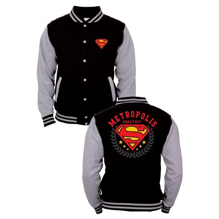 Superman Baseball Varsity Jacket Metropolis Codi Product