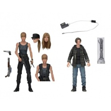 Terminator 2: Sarah and John Connor 7 inch Action Figure 2-Pack | NECA