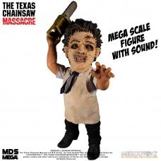 Texas Chainsaw Massacre Mega Scale Action Figure with Sound Feature Leatherface 38 cm | Mezco Toyz