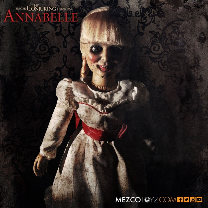 The Conjuring Scaled Prop Replica Annabelle Doll Mezco Toyz Product
