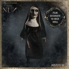 The Nun The Conjuring Universe Roto Plush Figure   Mezco Toyz