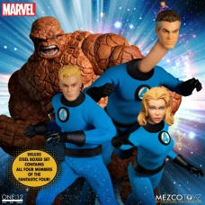 The One:12 Collective: Marvel - Fantastic Four Deluxe Steel Box Set | Mezco Toyz