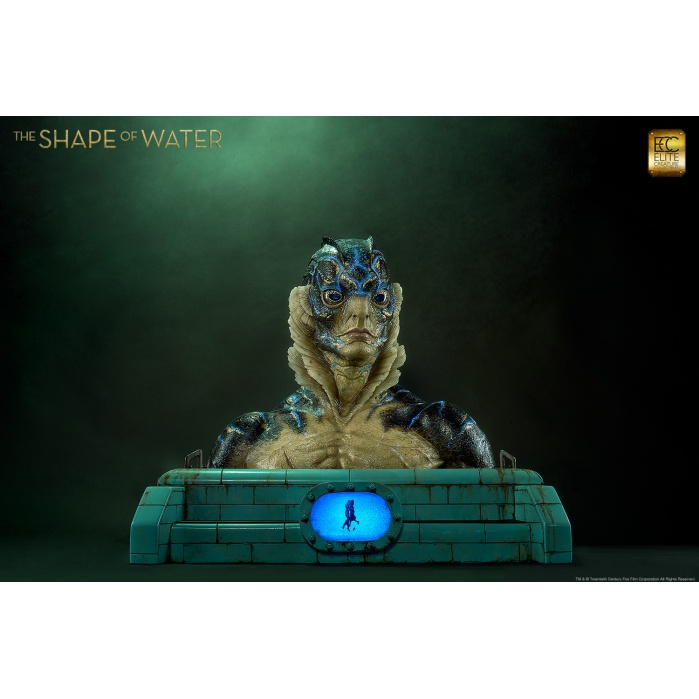 The Shape of Water: Amphibian Man Life Sized Bust Elite Creature Collectibles Product