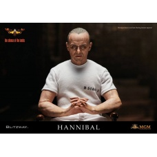The Silence of the Lambs Figure Hannibal Lecter Prison Uniform | Blitzway