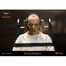 The Silence of the Lambs Figure Hannibal Lecter Straitjacket Ver | Blitzway