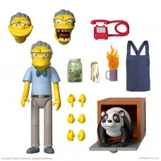 The Simpsons: Ultimates Wave 1 - Moe 7 inch Action Figure | Super7