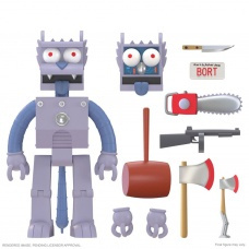The Simpsons: Ultimates Wave 1 - Robot Scratchy 7 inch Action Figure | Super7