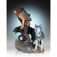 The Walking Dead Statue 1/8 Daryl & the Wolves 26 cm Gentle Giant Studios Product