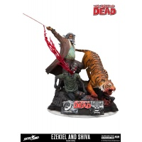 The Walking Dead Statue Ezekiel & Shiva McFarlane Toys Product