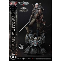 The Witcher 3: Wild Hunt - Deluxe Geralt of Rivia 1:3 Scale Statue Prime 1 Studio Product
