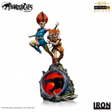 Thundercats: Deluxe WilyKit and WilyKat 1:10 Scale Statue | Iron Studios
