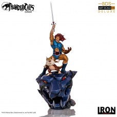 Thundercats: Lion-O and Snarf 1:10 Scale Statue | Iron Studios