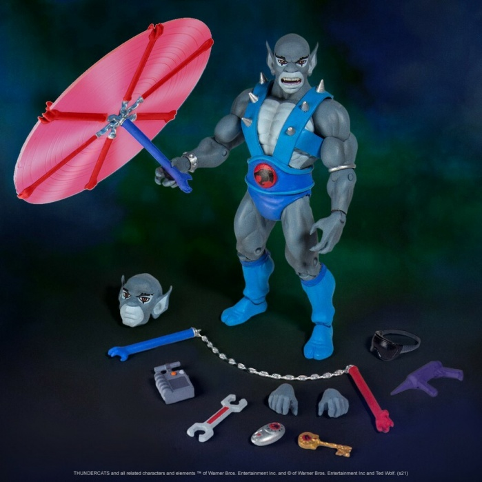 Thundercats: Ultimates - Panthro 7 inch Action Figure Super7 Product