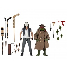 TMNT: 1990 Movie - Casey Jones and Raphael in Disguise 7 inch Action Figure 2-Pack - NECA (EU)