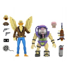 TMNT: Ace Duck and Mutagen Man 7 inch Action Figure 2-Pack - NECA (EU)