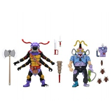 TMNT: Antrax and Scumbug 2-Pack 7 inch Scale Action Figures | NECA