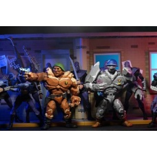 TMNT: Cartoon Series 4 - Tragg and Grannitor 7 inch Action Figure 2 Pack | NECA