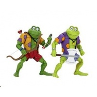 TMNT: Genghis and Rasputin Frog 7 inch Action Figure 2-Pack NECA Product