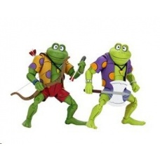 TMNT: Genghis and Rasputin Frog 7 inch Action Figure 2-Pack | NECA