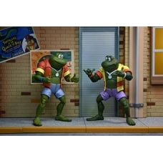 TMNT: Napoleon and Atilla Frog 7 inch Action Figure 2-Pack | NECA