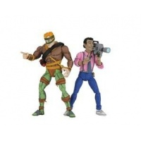 TMNT: Rat King and Vernon 7 inch Action Figure 2-Pack NECA Product