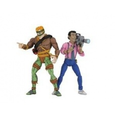 TMNT: Rat King and Vernon 7 inch Action Figure 2-Pack - NECA (EU)