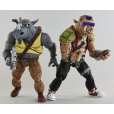 TMNT: Rocksteady and Bebop 18.cm Action Figure 2-Pack | NECA