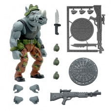 TMNT: Ultimates Wave 3 - Rocksteady 8 inch Action Figure - Super7 (EU)