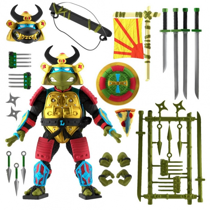 TMNT: Ultimates Wave 5 - Leo the Sewer Samurai 7 inch Action Figure Super7 Product