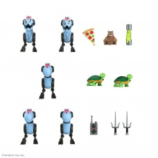 TMNT: Ultimates Wave 6 - Mousers 3 inch Action Figure 5-Pack | Super7