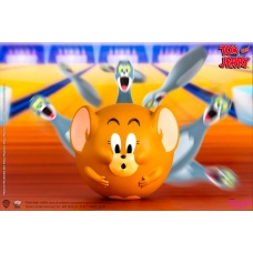 Tom and Jerry: Bowling Figures PVC Statue Set | Soap Studio