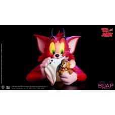 Tom and Jerry: Devil Vinyl Bust | Soap Studio