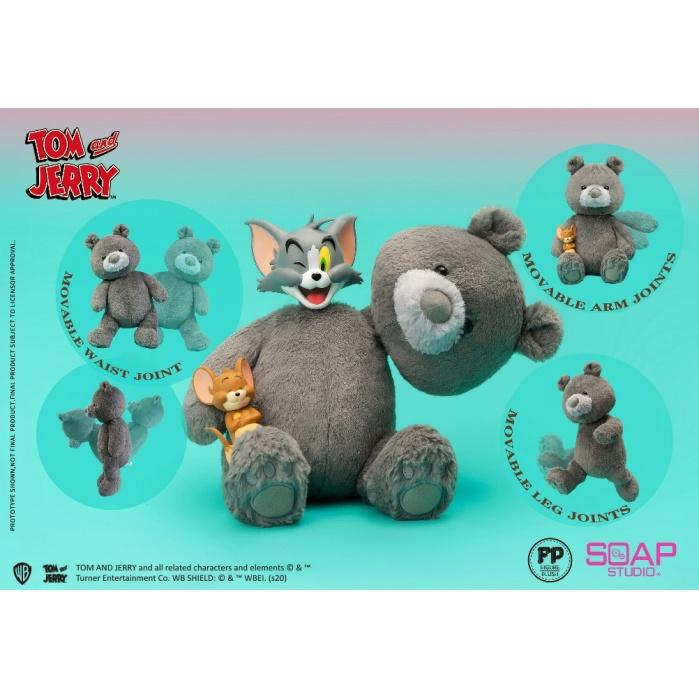 Tom and Jerry: Teddy Bear Plush Figure Soap Studio Product