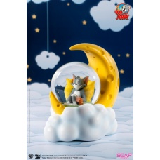 Tom and Jerry: Tom and Jerry Cheese Moon Snow Globe | Soap Studio