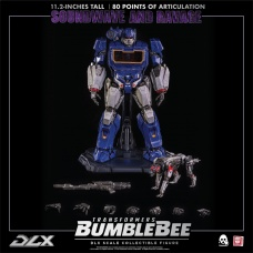 Transformers: Bumblebee Movie - Soundwave and Ravage Figures threeA Product Image