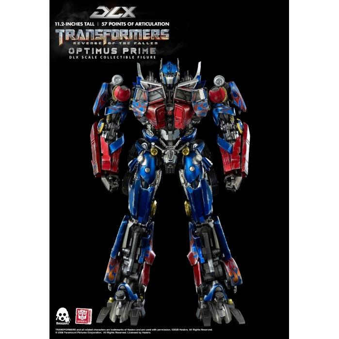 Transformers: Revenge of the Fallen - DLX Optimus Prime threeA Product
