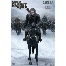 War for the Planet of the Apes: Caesar with Rifle on Horse PVC Statue | Star Ace Toys