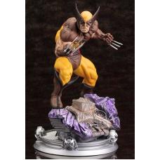 Wolverine Brown Costume Danger Room Sessions Fine Art 1:6 Statue 20 cm Kotobukiya Product Image